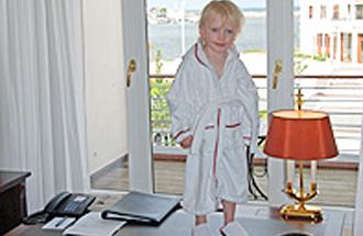 Wellness mit Kind - für Brigitte.de, fotografiert von Udo