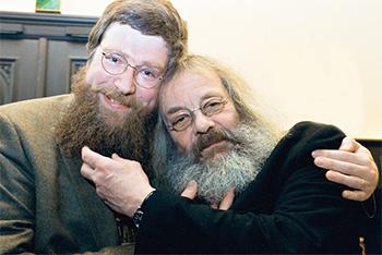 Philip Ardagh und Harry Rowohlt