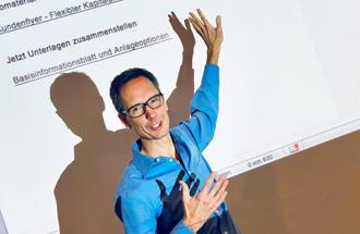 Schreib-Tainer Udo Taubitz